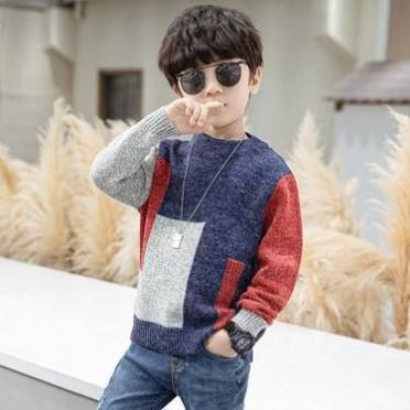 小孩童装杂款百搭服装农村赶集便宜货源厂家亏本出售男女毛衣套头
