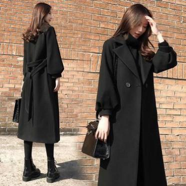 氣質2020秋冬裝新款女裝短裝外套女短款風衣小個子妮子毛呢子大衣