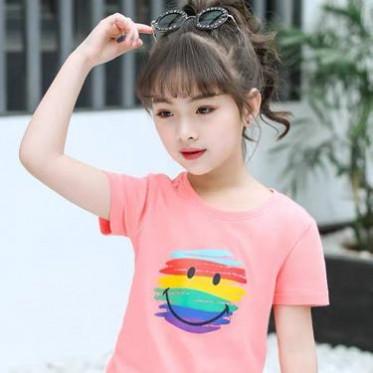 2021夏季童裝短袖韓版地攤童T恤套裝 外貿尾貨兒童潮流時尚運動套裝