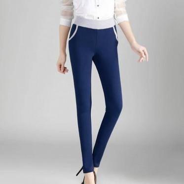 2016春款新品顯瘦緊身褲休閑褲 女打底褲彈力小腳鉛筆褲子