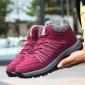 年足力健老人鞋正品冬季加�q保暖防滑�\�有�����健步散步鞋女�S家
